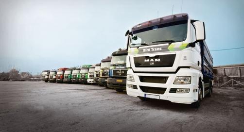 Biró Trans Kft., Püspökladány - MaxPower üzemanyag adalék használó